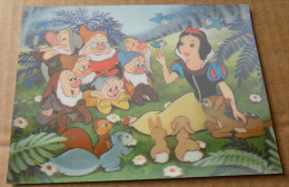 Carte Effet 3D- Snow White Blanche Neige - Walt Disney - Other