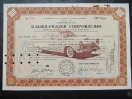USA - Kaiser-Frazer Corporation - Automobile