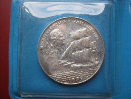 Samoa & Sisifo Silver 10 Tala $ 1979 Captain Cook - Rare Plain Edge Type In Mint Wallet - Samoa