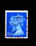 GREAT BRITAIN - 1990  DOUBLE HEADS  15p. CB HARRISON IMPERF. BOTTOM  FINE USED SG 1467 - 1952-.... (Elizabeth II)