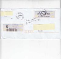 FRANCIA  2015 - Etichetta Internazionale Su Raccomandata - Frankrijk