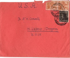 Enveloppe Timbrée - Allemagne Vers U.S.A - Germany