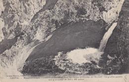 Ph-CPA Rezentières (Cantal) Gouffre De Boufares Dans Les Gorges Profondes De L'Arcueil - France