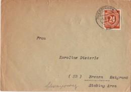 Enveloppe Timbrée - Allemagne - Altri