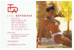 CALENDIER DE POCHE 1991 (14,5 X 10) - SPRL DETERASS - GOSSELIES - Petit Format : 1991-00