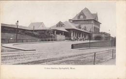 Massachusetts Springfield Union Railroad Station