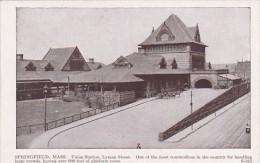 Massachusetts Springfield Union Railroad Station Lyman Street