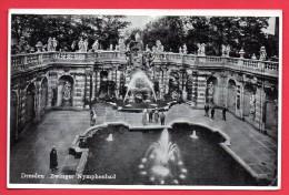 Dresden. Zwinger. Nymphenbad ( Avant Bombardements ). Juillet 1941 - Dresden
