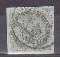 CG - Aigle N° 1 - Oblitération Saïgon 1875 (emploi Tardif) - Gebraucht
