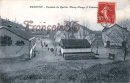 (21) Auxonne - Ensemble Du Quartier Marey Monge - Soldats Militaires Militaria - 2 SCANS - Auxonne