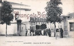 (21) Auxonne - Caserne Du 10éme De Ligne - 2 SCANS - Auxonne