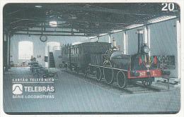 BRAZIL(Telebras) - Train, 04/96, Used - Treni