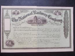 USA - The National Railway Company - Chemin De Fer & Tramway