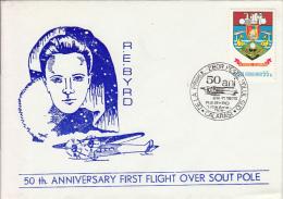 27685- R.E. BYRD, FIRST FLIGHT OVER SOUTH POLE, 1979, ROMANIA - Polar Flights