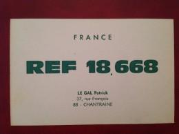 QTH Radio Amateur 88 CHANTRAINE LE GAL - Chantraine