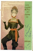 Raphael Kirchner  Les Ciggarettes Du MOnde  D.11  Q4 - Cartoline