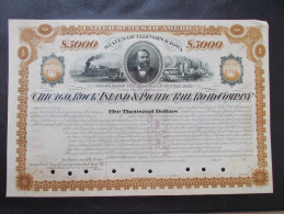 USA - The Chicago, Rock Island & Pacific Rail Road Company - Chemin De Fer & Tramway