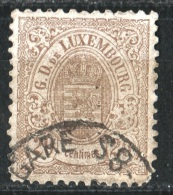 LUXEMBOURG - 1880 - Obl. - Y&T 44 - - 1859-1880 Coat Of Arms