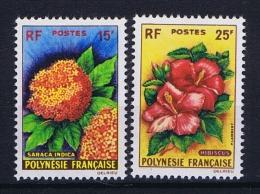 Polynésie:  Yv Nr 15 - 16  MH/* Avec  Charnière - Neufs