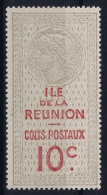 Reunion  Colis Postaux  Yv Nr 5 MH/* Avec  Charnière - Gebraucht