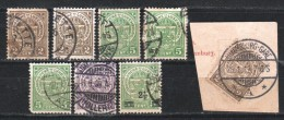 LUXEMBOURG - 1907-24  - LOT  - - 1907-24 Coat Of Arms