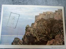Dubrovnik - Ragusa, Adria, Ship, Schiff, Kroatien, Croatia Cachet Recto Et Verso 1913 - Croatie