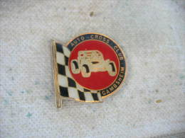 Pin´s Rallyes, Courses Automobiles: Auto Cross, Club De La Ville De GAMBSHEIM (Dépt 67) - Badges