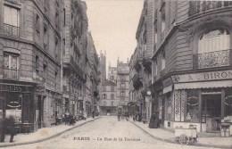 PARIS XVII° Rue De La TERRASSE Animée Commerces CREMERIE Bidons De LAIT Petite Voiture De Livraison CAFE - Distretto: 17