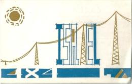 CARTE RADIO ISRAEL - Radio & TSF