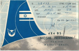 CARTE RADIO ISRAEL - Other