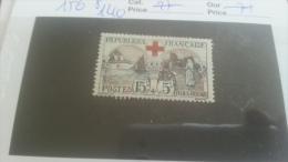 LOT 274058 TIMBRE DE FRANCE NEUF* N�156 VALEUR 140 EUROS
