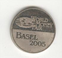 Jeton World Money Fair - Basel 2005 - Lithuanian Mint - Professionals / Firms