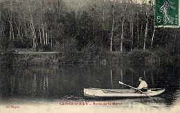 77 SAINTE-AULDE Bords De La Marne Animée Canotage - Autres Communes