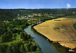 77 SAINTE-AULDE Vue Générale Aérienne Vallée De La Marne Cpsm Couleur Grand Format - Autres Communes
