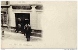 JUDAICA-  Paris 10è -Fort Chabrol-Une Délégation- Rite Antijuif Antisémitisme Précurseur Etat LUXE - Judaisme