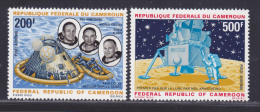 CAMEROUN AERIENS N°  146 à 147 ** MNH Neuf Sans Charnière, TB (D215) Cosmos, Apollo 11 - Cameroun (1960-...)