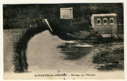 St Martin De Londres  - Barrage Sur L´Hérault ......Année 1937 - France