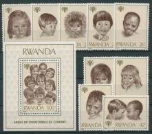 Ruanda 1979 Jahr Des Kindes 992/00 Block 86 Postfrisch (G20488) - Ruanda