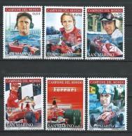 San Marino 2005 Ferrari - Formula 1 World Champions.Sport/Racing, Car Races/Formula 1.MNH - San Marino