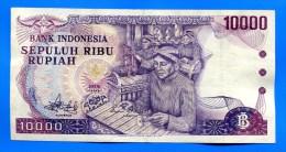 Indonesie  10.000 Rupiah  1979  Sup - Indonésie