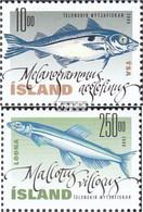 Island Mi.-Nr.: 960-961 (kompl.Ausg.) Postfrisch 2000 Nutzfische - 1944-... Republik