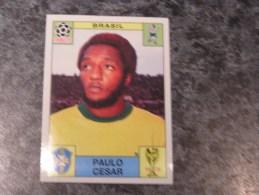 Brésil PAULO CESAR 70 Mexico 1970 Brazil World Cup Story PANINI Original Sticker N° 39  Vignette Autocollante - Panini