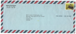 CANADA - 1988 - 74 Wapiti - Viaggiata Da Montreal Per Genève, Suisse - Lettres & Documents