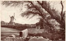 Postcard - Marsh Windmill, Lancashire. 387 - Windmolens