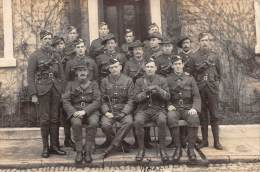 """04031 """"COMMONWEALTH SOLDIERS  (I MONDIAL WAR) - SOLDATI DEL COMMONWEALTH"""" ANIMATA FOTOCARTOLINA ORIGINALE. SPEDITA 1915 - Guerre 1914-18"""