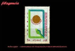 ASIA. IRÁN MINT. 1977 SEMINARIO DE EDUCACIÓN PARA HIPOACÚSICOS - Iran