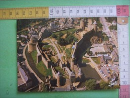 155) Fougeres : Citadelle Du Duche De Bretagne   : Recto-verso - Fougeres