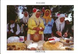 Bulgarie Dobroudja Groupe Folklorique Izvor Du Village De Debovik , Cpm , 1995 , Tirage Limité à 500 Exp Amatteis - Bulgarie