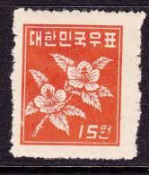 Korea 109    * - Korea, South