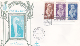 Vatican City 1962 St Catherine Kim Cover - Vatican